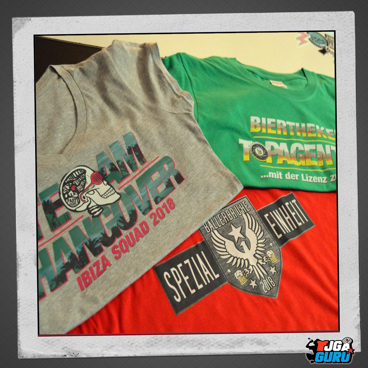 JGA Shirts Auswahl