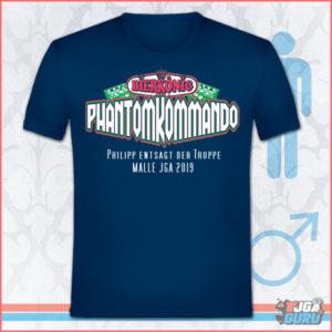 JGA T-Shirt Bierkönig Phantomkommando