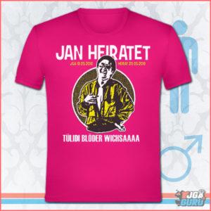 JGA Shirt Blöder Wichsa